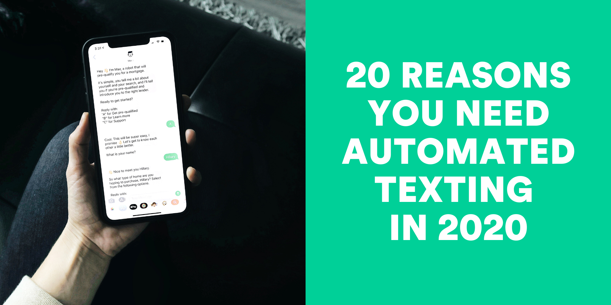 20 Reasons Why You Need Automated Texting in 2020