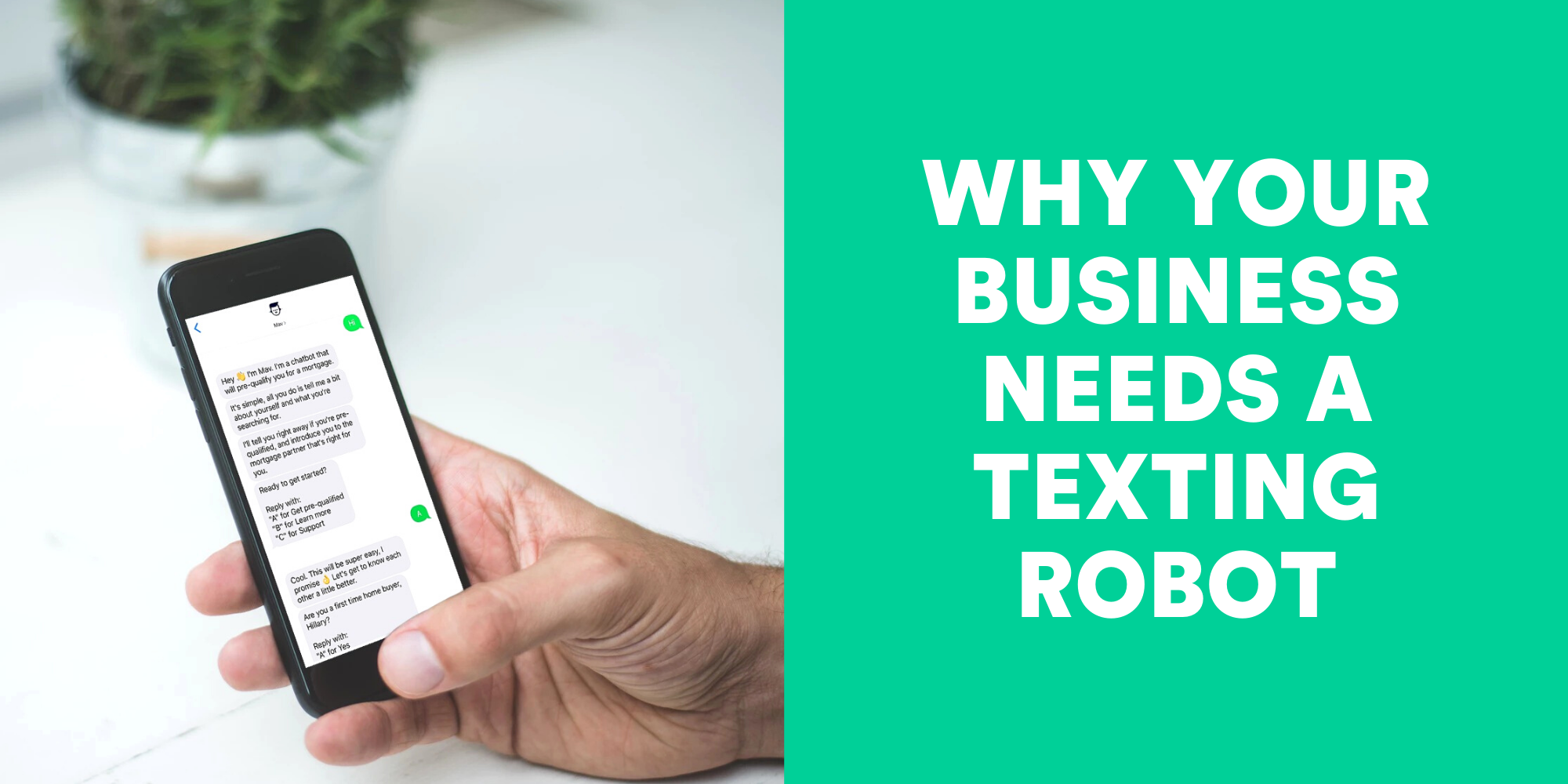 Why Your Business Needs An Automated Texting Robot