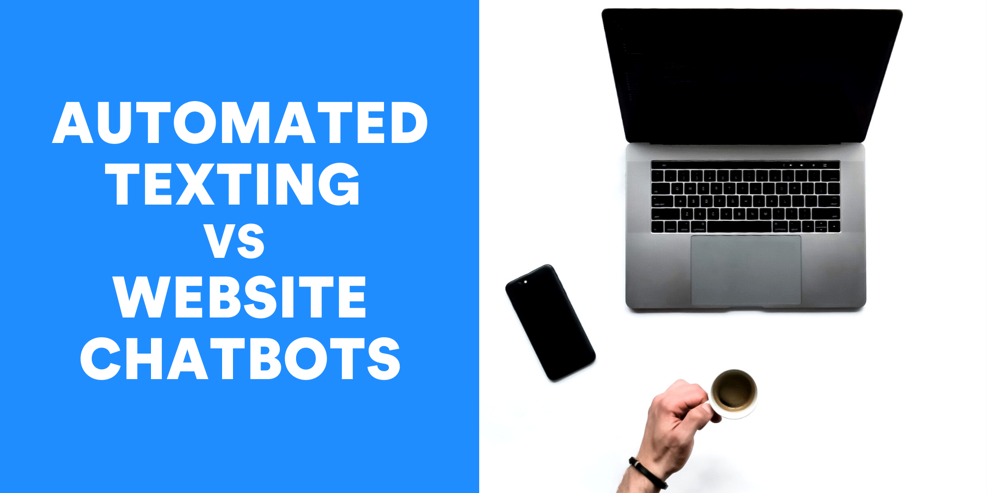 Why SMS bots are better than website chatbots